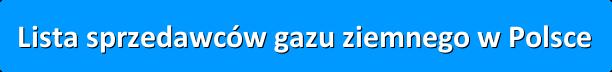 sprzedawcy gazu w Polsce