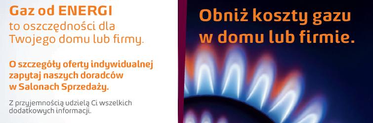 energa gaz ziemny dla domu