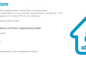 green gaz ziemny